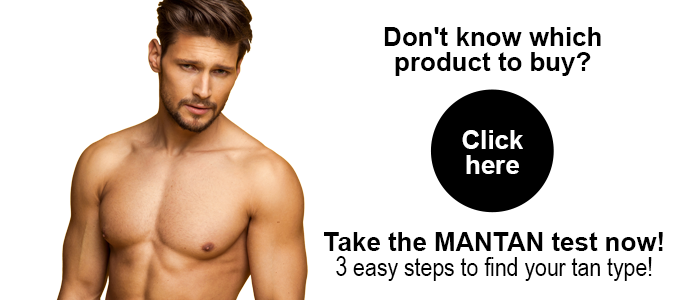MANTAN Online Shop - Don't know which product to buy? 3 easy steps to find your tan type!